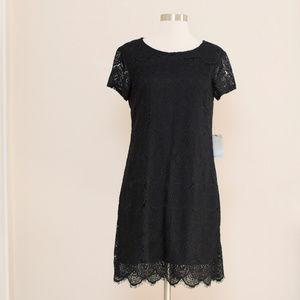 Laundry by Shelli Segal Black Lace Dress 8P 🎉🎉HP